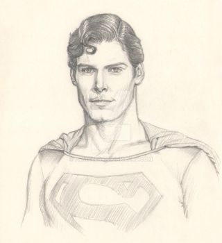 Christopher Reeve by Almayer