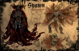 Spawn - -re-imagined by RIVOLUTION