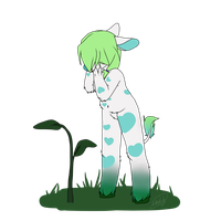 Hello Plant | Art Trade | by sketchingERRROR