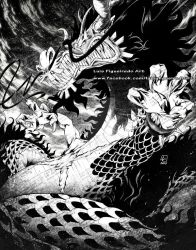 KAIDO's DRAGON FORM by marvelmania