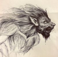 Werewolf by TheMalevolentMind