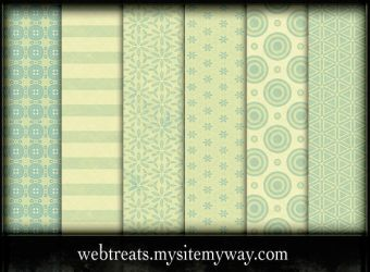 Lime Green Photoshop Patterns by WebTreatsETC