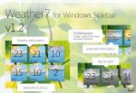Weather7 v1.2 - Windows gadget by Franchu