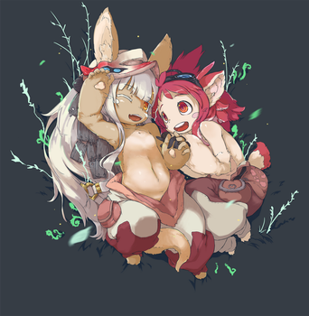 Nanachi and Mitty by Visark