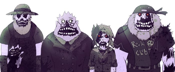 More Zombies!! by Elfenzorn