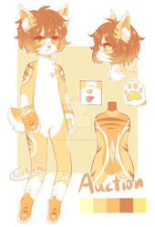 |CLOSE Auction|Adopt Anthro#2 by RenAyumeArts