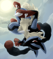MEGALUCARIO by Pippanaffie