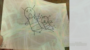 Buzzy Bee Storyboard Panel by BuzzNBen