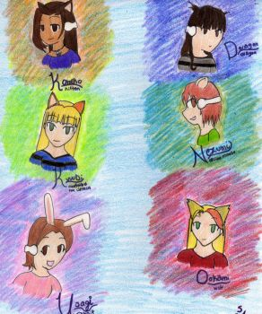 Just the Six of Us by asayake-hime
