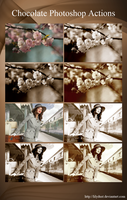 Chocolate Photoshop Actions by lilydust