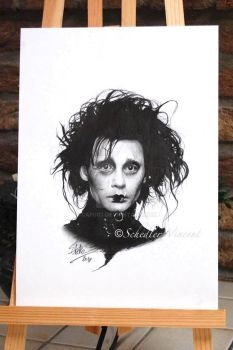 Edward Scissorhands - Completed . by Cap007