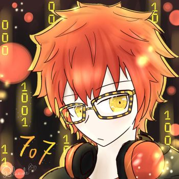 707 the Hacker ! by Bluecake80
