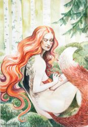 In To the Woods by rawenna
