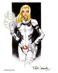 Dazzler, Agent of SHIELD by ToddNauck