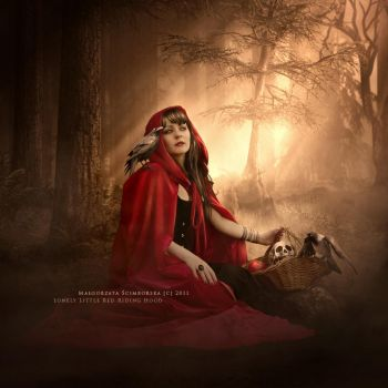 Lonely Little Red Riding Hood by Yosia82