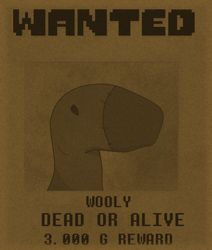 WANTED - Wooly by VanGold