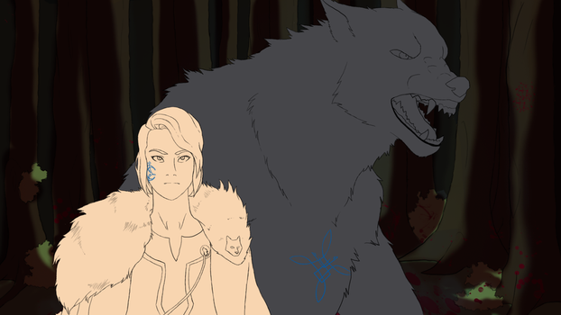 Wolves WIP by Zexeos