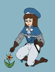Claire's Flower Picking by Doctor-Awkward