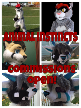 Fursuit Commissions Open! by 13dragonwings