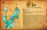 Trinkitts: Cleo Reference Sheet by heliodorh