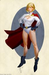 Powergirl Update by Gorrem
