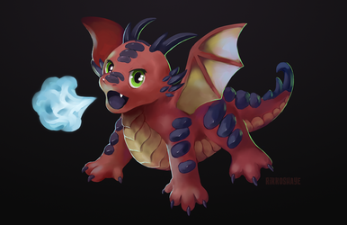 Dragon Huff by Rikkoshaye
