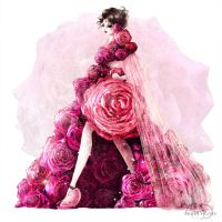 BOUQUET DRESS by danydiniz