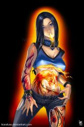 Phoenix Burn Out by transfuse