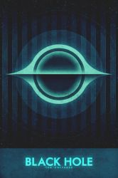 The Universe - Black Hole - Space Poster by FabledCreative
