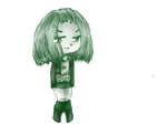 Lany Chibi Pixel Green by SdoisChan