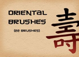 Oriental Brushes by asianpride7625