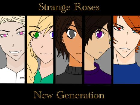 Strange Roses | New Generation (Cover)  by Pinkydraws50145