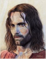 Aragorn, son of Arathorn by Shishkina