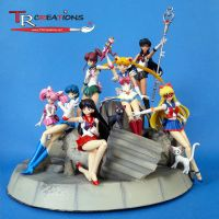 Sailor Moon Figuarts by zelu1984