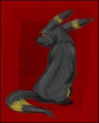 umbreon by mr-tiaa