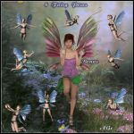 Fairy poses for G3F and G8F (free) by FantasiesRealmMarket