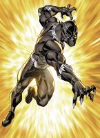 Black Panther by xXNightblade08Xx