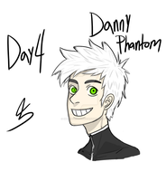 28 Days of Art! Day 4: Danny Phantom by spookylolly