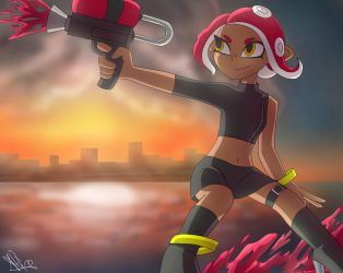 Agent 8 by Aliplayer005