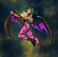 Morrigan Colored by likwidlead