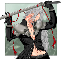 Sephiroth by SoundOfColor