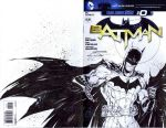 Batman sketchcover commission by adelsocorona