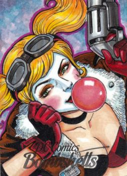 DC Bombshells - HARLEY QUINN by JASONS21