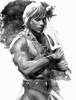 He-Man by danielmchavez