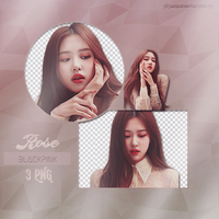 BLACKPINK Rose 3 PNG PACK #31 by liaksia by liaksia