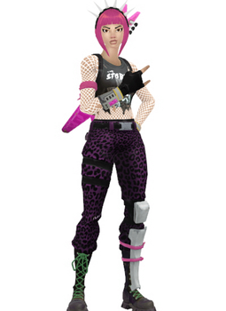 [MMD] Fortnite - Power Chord by arisumatio