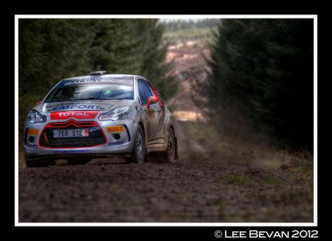 Citroen Rally Car HDR by Leeby