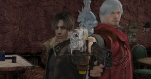 Leon and Dante: Jackpot by Sgtsoupie