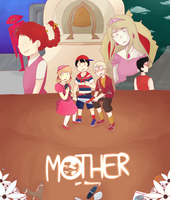 MOTHER ll 24th Anniversary by PettyBluez