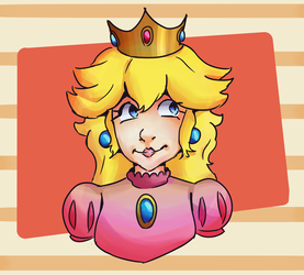 Princess Peach by Keroen-Creature